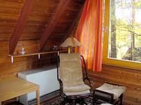 ... und bietet genug Raum zum Entspannen, Lesen oder Arbeiten...