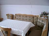 Bequeme Sitzecke in der Küche