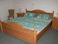 Das Schlafzimmer im gemütlichen Landhausstil