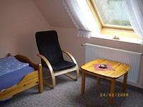 Drei Doppelzimmer im ersten Obergeschoß